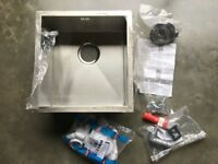 Cooke & Lewis stainless steel kitchen sink - new