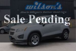2014 Chevrolet Trax LS 1.4L TURBO! BLUETOOTH! $51/WK, 4.74% ZERO