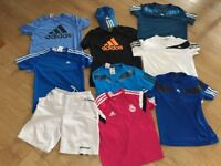 Adidas boys sports/tennis tops/kit. For 9-10 year old (adidas size 152)