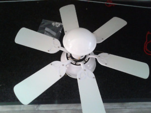 Ceiling Fan - Electrical Cord - for room with no ceiling light