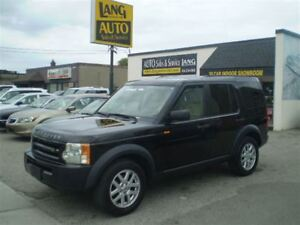 2007 Land Rover LR3 V6 SE! 7 PASSENGER! LOADED!