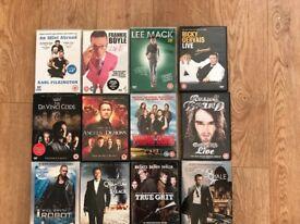 Set of 12 DVDs