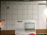 Brand new for your home office - Rexel Magnetic Monthly Organiser Calendar 585 x 430 mm