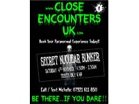GHOST HUNT - HACK GREEN SECRET NUCLEAR BUNKER .... ONLY £49pp