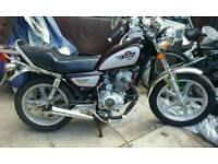 125 cc cruiser