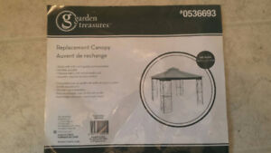 10x10 Replacement Canopy for Gazebo