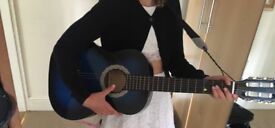 Blue Childs guitar