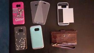 Samsung S7 with cases