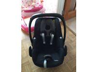 Maxi-Cosi Pebble Group 0+ Baby Car Seat, (Origami Black)