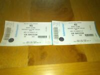 Muse festival tickets, Boucher playing fields Belfast 23rd August