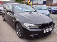BMW 3 SERIES 320d [184] Sport Plus Edition 5dr - Gorgeous Looking Car With High MPG (black) 2011