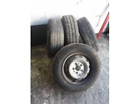 Peugeot boxer tyres