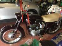 ARIEL MOTORCYCLE 1957 350CC CLASSIC/VINTAGE BIKE