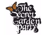 2x Secret Garden Party 2017 Adult Weekend Camping tickets for sale Meet at the Venue