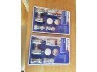 Drayton Chrome Thermostatic Radiator Valves