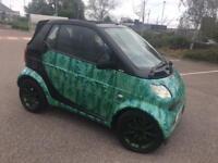 Smart car private plate