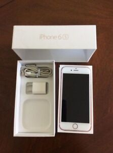 Apple IPhone 6S 16GB Rose Gold Bell/Virgin
