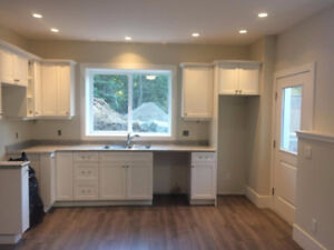 Brand new 2 bed suite in Cowichan Bay