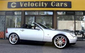 1999 Mercedes-Benz SLK230 Convertible 43K Supercharged  Leather