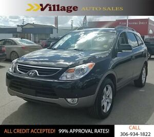 2012 Hyundai Veracruz GLS Power Seats, Leather Interior, Heat...