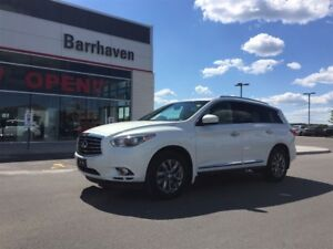 2014 Infiniti QX60 JUST TRADED IN! EXTRA CELAN! ONE OWNER!