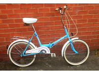 Retro Vintage Universal Unisport Folding Shopper Bike