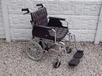Wheelchair / Mobility / Disability / Walking aid / lightweight folding wheelchair / Wheel chair