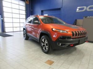 2016 Jeep Cherokee Trailhawk 4x4 w/NAV,ROOF,OFF ROAD GROUP