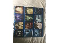X Files Blu Ray Box Set Including Event Series and Two Feature Films (As New Condition)