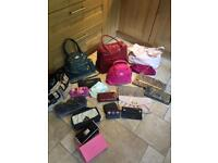 Collection Of Handbags, Clutch Bags & Purses - (20 Pieces)