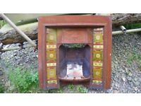 this is an original not a copy fireplace surround cast iron