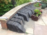 """Roofing slates, (used) approximately 1400, 13x7"""""""