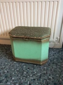 Retro Wicker storage box