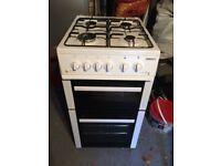 Beko freestanding gas cooker