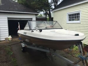 14.5ft Sunray Escapade, 55hp motor and trailer