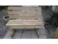 Rocking Garden Bench 4' wide only £75