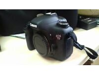 Canon EOS 7D Digital SLR Camera Shutter Count 1192 - Body Only £460 ONO