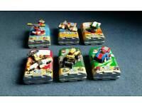 Lego mini 3 in 1 sets