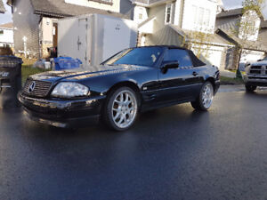1991 Mercedes-Benz 500SL Brabus Convertible - 70KMS