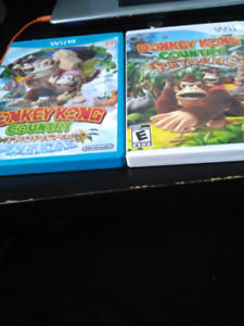 Donkey Kong Country Returns for Wii u and Wii