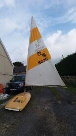 Mini Sail Sailing dinghy