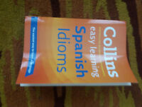 Collins Easy Learning Spanish Idioms - £3