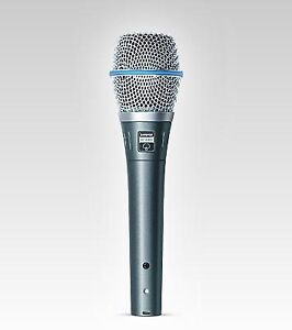 SHURE MIC  BETA87A    $ 300 MIC SELLING IT FOR $180