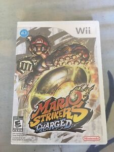Mario strikers charged for the wii