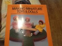 Making miniature toys &dolls book