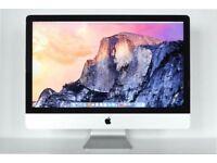 Apple iMac 27 inch late 2013.