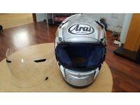 Arai motorbike helmet