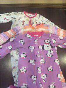 3 pyjamas 18 mois