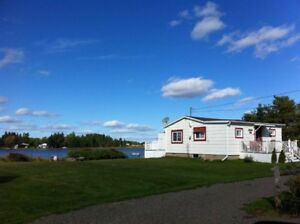 Waterfront cottage for sale (Shediac River, NB)