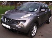 Nissan Juke Accenta 2012. Only 26000 miles. Full year MOT. Metalic Grey